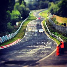 Nurburgring, Nordschleife - looks like the slot car track I've always dreamed of owning!
