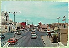Downtown Carlsbad NM | Downtown Carlsbad, New Mexico Postcard ~ 1960's (Postcards) at Joann's ... Carlsbad New Mexico, New Mexico Homes, Travel General, Land Of Enchantment, Great Pictures, Scenery, To Go, Places To Visit, Street View