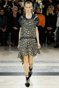 Sacai ready-to-wear spring/summer '16: