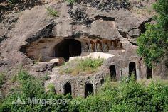 Cave temple in Myanmar