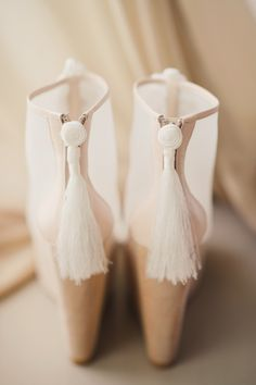 Sassy tassels for Gatsby wedding shoes Boho Wedding Shoes, Bridal Shoes, Wedding Wedges, Wedding Dresses, Stilettos, Heels, Crazy Shoes, Me Too Shoes, Christian Louboutin