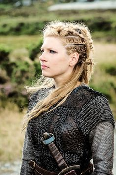 Lagertha the #Shielmaiden - played by Katheryn Winnick on History #Vikings. I love love love everything about this character