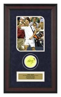 Andre Agassi Autographed Tennis Ball Shadowbox « Store Break