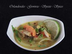 Thailändische Hühnchen Suppe