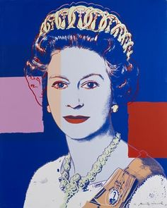 Queen Elizabeth II of the United Kingdom by Andy Warhol. Government Art Collection.