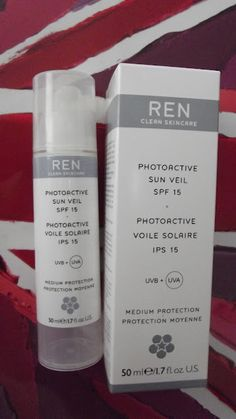 Read about the new REN Skincare Photoactive Sun Veil out in May!