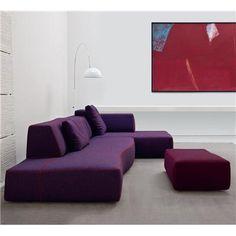 I heart you bend sofa by Patricia Urquiola (produced by B&B Italia)..