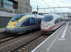 Eurostar and ICE