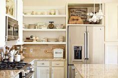 EL JARDIN DE LOS MUFFINS: Blog de Decoración, Vintage y Tendencias: La Encantadora Cocina de Estilo Vintage del Cottage de Tricia