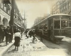 July 16, 1918. St. Lawrence Blvd. & St. Catherine by Thomas Fisher Rare Book Library, via Flickr