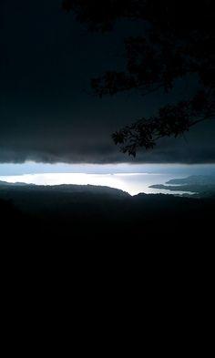 Lago de Ilopango desde el mirador del Cerro de las Pavas (jhonyVentura)