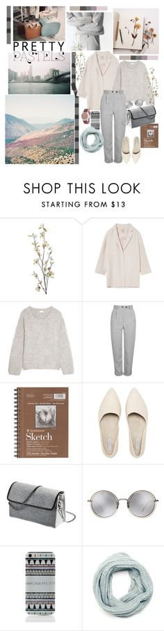 """Pastel"" by mariettamyan ❤ liked on Polyvore featuring INDIE HAIR, Pier 1 Imports, Chloé, Topshop and Linda Farrow"