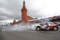 Rusya'nın başkenti Moskova'da düzenlenen Moscow City Racing Auto Show, aralarında Formula-1 pilotlarının da bulunduğu birçok ünlü yarış pilotunu bir araya getirdi.