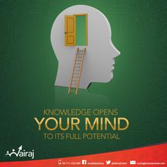 Knowledge emancipates the human mind from ignorance and goes a long way in unleashing one's hidden talents. An open mind is not subject to bias or partiality. Hence, education strengthens the human mind and enables an individual to understand the environment around him much better.  #Mairaj #Olevel #Alevel #CIE #Economics #Business #AskMAIRAJ