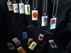 Loteria Necklace by StreetHeart on Etsy, $10.00