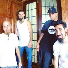 Shavo, John, Daron y Serj