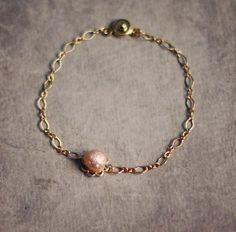 Wedding Jewelry  everyday jewelry natural pink by YUNILIsmiles, $17.00