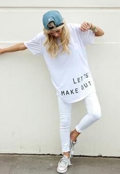 I'll make out! All white outfits http://www.theblack-collar.com/2013/07/daily-inspo-all-white.html