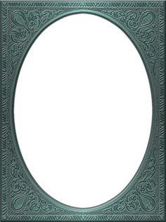 Presentation Photo Frames: Tall Fancy Oval, Style 36
