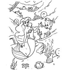 The Little Mermaid Coloring Page . 24 the Little Mermaid Coloring Page . Ariel From the Little Mermaid Coloring Page Ariel Coloring Pages, Disney Coloring Sheets, Disney Princess Coloring Pages, Disney Princess Colors, Princess Cartoon, Disney Colors, Coloring Pages For Girls, Cartoon Coloring Pages, Free Printable Coloring Pages