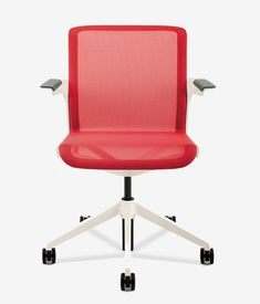 """""""If you're in a chair that has a foam or mesh back, you need to look for some level of adjustment for lumbar support to fit the curve of ... #ergonomicofficechairbackpain"""