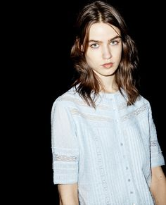 Embroidered top - Women - The Kooples