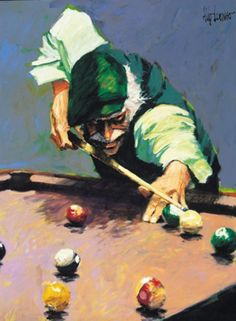 Billiards 2006 by Aldo Luongo