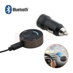 Wireless Car Bluetooth Audio Receiver With Mic for Car Stereo Audio
