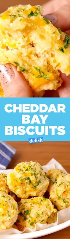 These Copycat Red Lobster Cheddar Bay Biscuits Are A Garlic Lover's Fantasy