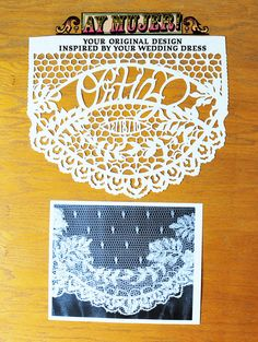YOUR WEDDING DRESS Original Papel Picado Design Papel Picado d918a593c