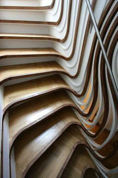 Stairs designed by Atmos Studios