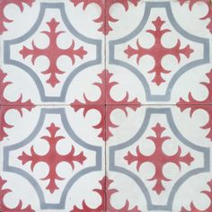 Enough red? Terrazzo Tiles all about £100/m