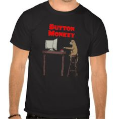 """>>>Cheap Price Guarantee          """"Button Monkey"""" Dark T-shirt           """"Button Monkey"""" Dark T-shirt In our offer link above you will seeReview          """"Button Monkey"""" Dark T-shirt Review on the This website by click the button below...Cleck Hot Deals >>> http://www.zazzle.com/button_monkey_dark_t_shirt-235818001942187491?rf=238627982471231924&zbar=1&tc=terrest"""