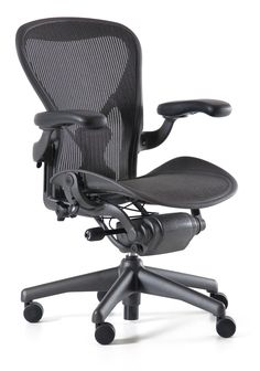 herman miller: meet the new aeron chair, remastered from the