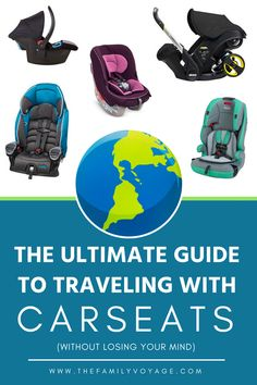 Should you bring a travel car seat for your trip? What's the best portable car seat? Find everything you need to know about how to travel with car seat here Packing Tips For Travel, Travel Advice, Travel Essentials, Vacation Packing, Travel Articles, Travel Info, Travel Guide, Toddler Travel, Travel With Kids