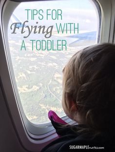 Tips for Flying with a Toddler - First Flight - Traveling with a Toddler