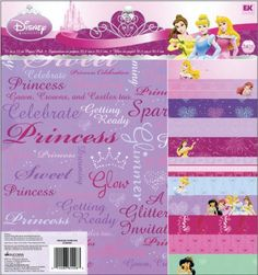 Ek Success Disney Princess Decorative Paper Pad Pack *** Check this awesome product by going to the link at the image.Note:It is affiliate link to Amazon. #foryouby