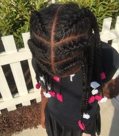 Perfect braids and Sweet Pea GaBBY Bows!