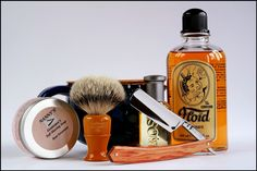 Straight Razor grooming kit