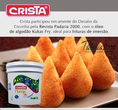 Crista Indústria participou do desafio da coxinha!