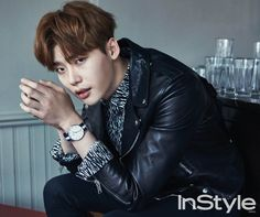 Lee Jong Suk and Park Shin Hye - InStyle Magazine April Issue '15