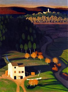Commission your favorite Felix Vallotton oil paintings from thousands of available paintings. All Felix Vallotton paintings are hand painted and include a money-back guarantee. Pierre Bonnard, Landscape Art, Landscape Paintings, Pintura Exterior, Night Pictures, Paul Gauguin, A4 Poster, Naive Art, Land Scape