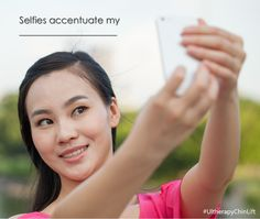 #Selfies accentuate my __________   #FillinytheBlank #UltherapyChinLift