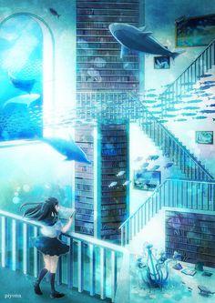 Anime water