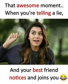 Never happened with e sali dhara g hoe e sachu kai dey frnds crazy quotes for best friend - Quote Craze Best Friend Quotes Funny, Besties Quotes, Funny Quotes, Funny Memes, Funny Videos, Best Friend Jokes, Guy Friend Quotes, Truth Quotes, Bffs