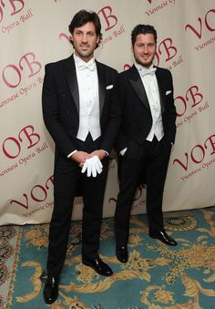 Dancing With the Stars' Tony, Val, and Maks Get Sexy in Tuxedos (PHOTOS)