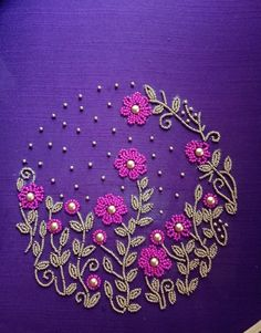 Handmade embroidery designs for sarees best of for details whatsapp stiching in 2019 - www.Mrsbroos.com