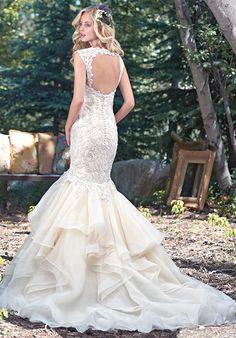 Maggie Sottero Malina Mermaid Wedding Dress