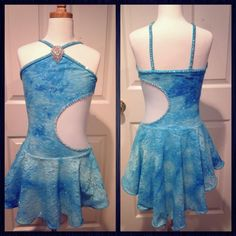 AS Blue Solo Lyrical Costume