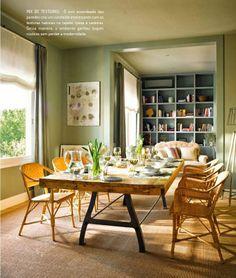 Decorando com as cores do outono. Veja: http://www.casadevalentina.com.br/blog/detalhes/com-as-cores-do-outono-2872 #decor #decoracao #interior #design #casa #home #house #idea #ideia #detalhes #details #style #estilo #casadevalentina #autumn #outono #diningroom #saladejantar